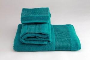 Juego de toallas de fantasía turquesa 165