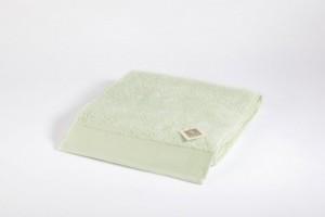 Toalla lisa suelta verde claro 50