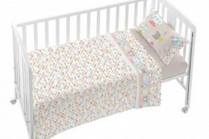 Juego de sábanas de bebe único 006