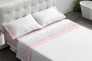 Juego de sábanas 473 rosa