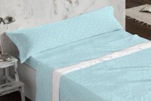 Juego de sábanas Coralina 955 Azul