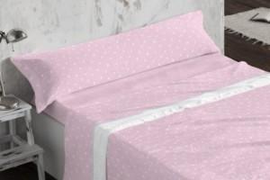 Juego de sábanas Coralina 955 Rosa