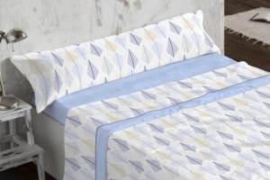 Juego de sábanas Coralina 956 Azul