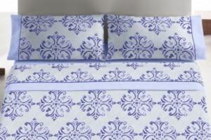 Juego sábanas color Azul 452