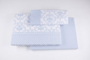 Juego de sábanas de franela 553 Azul