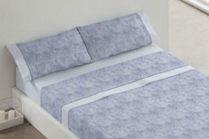 Juego sábanas color Azul 393