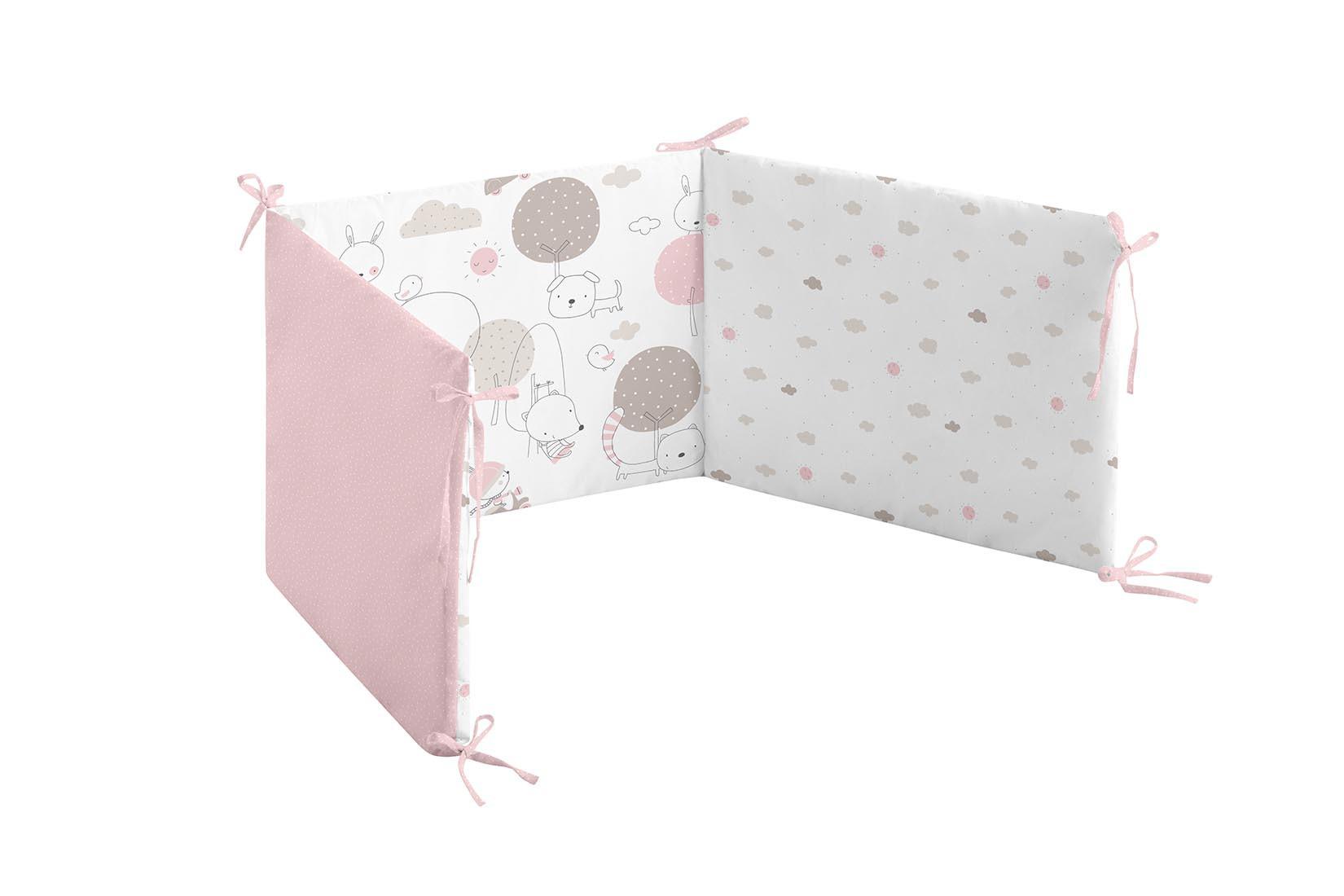 color rosa Be Dots Capa de ba/ño ni/ñas