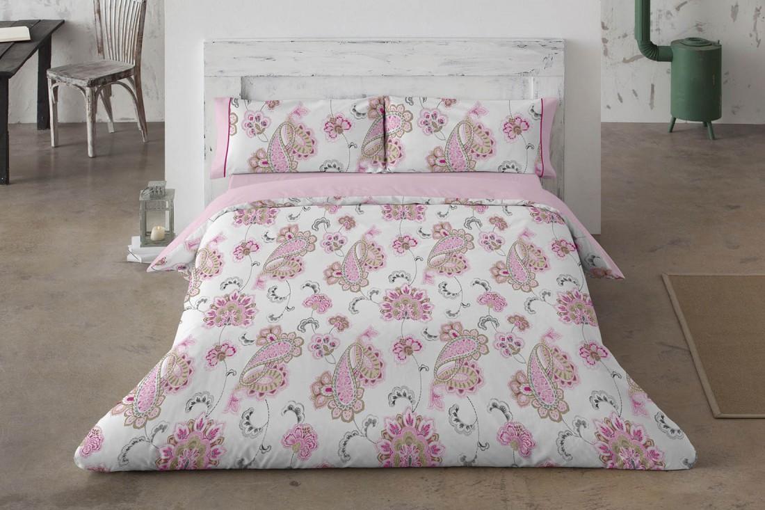 varios diseños diseño de variedad nueva productos calientes Funda nórdica estampada color Rosa 692