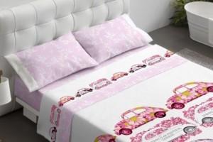 Juego de sábanas 103 rosa