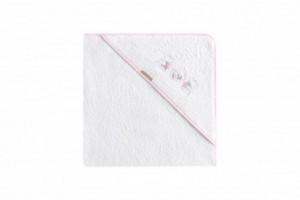 Capa de baño bebé rosa 201