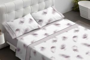 Juego de sábanas de color piedra - Burrito Blanco