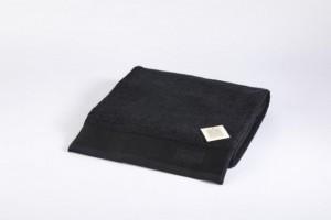 Toalla lisa suelta negro 50