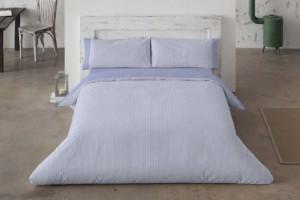 Fundas nórdicas de franela premium 546 azul de Burrito Blanco