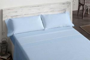 Sábanas de franela premium 555 azul