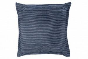 Cojín tejido de lino 103 Azul de Burrito Blanco