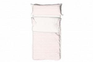 Saco nórdico infantil algodón 011 Rosa de Burrito Blanco