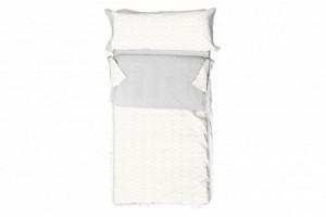 Saco nórdico infantil algodón 012 Multicolor de Burrito Blanco