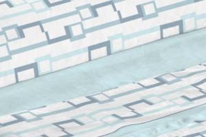 Sábana bajera ajustable Puzzle 00 Blanco