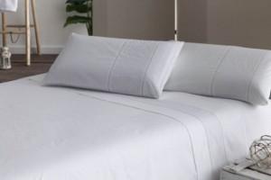 Juego de sábanas blanco 396
