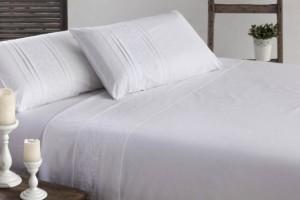 Juego de sábanas blanco 397
