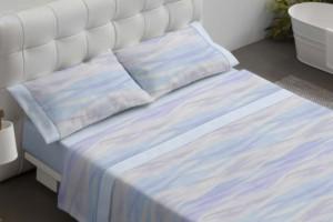 Juego de sábanas 028 Azul de Burrito Blanco