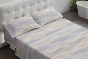 Juego de sábanas 028 Gris de Burrito Blanco