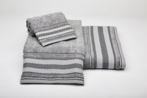 Juego de toallas color gris 191
