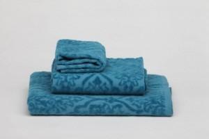 Juego de toallas de fantasía Turquesa 101