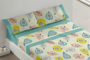 Juego sábanas color Azul 405