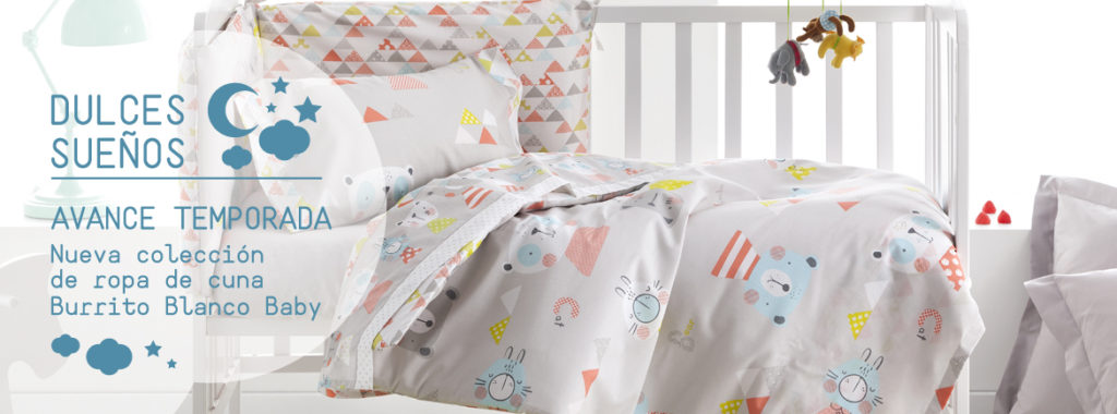 Ropa de cama para tu bebé