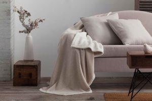manta suave para tu sofa